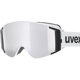 UVEX g.gl 3000 TOP Masque, white/polavision-fullmirror silver